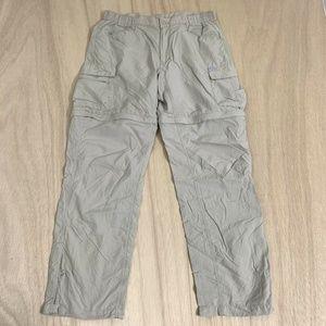Columbia Hiking Pants Convertible Zip Off Womens L
